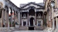 Дворец Диоклетиана центр Сплита